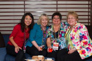 There is always time to make a new friend or build stronger connections with your peers at the Annual Conference for Administrative Excellence