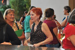 Networking at the Welcome Reception. Annual Conference for Administrative Excellence.