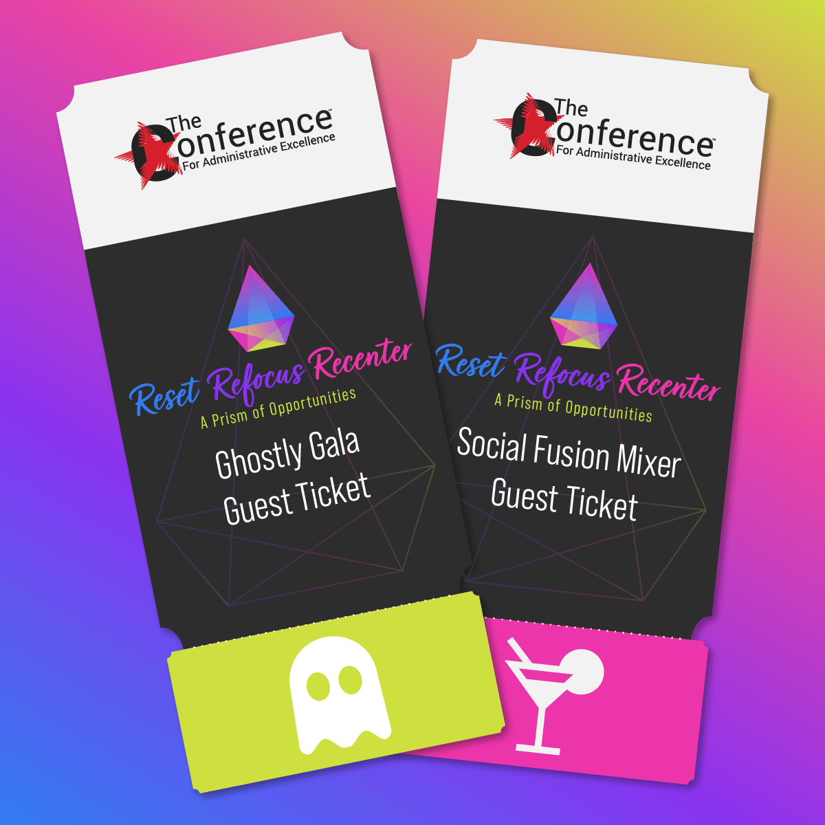 Social Fusion Mixer and Ghostly Gala Guest Ticket Bundle